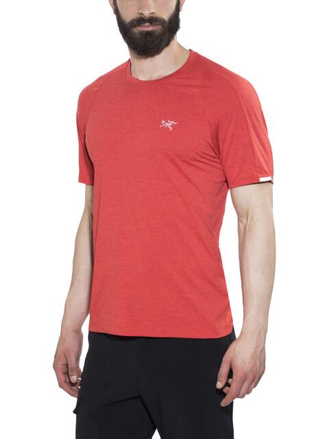 Arc'teryx Cormac Crew SS Shirt Men Cardinal